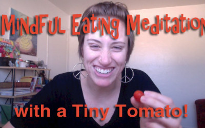 Mindful Eating Meditation for Eating Disorder Healing + Body Image [VIDEO]