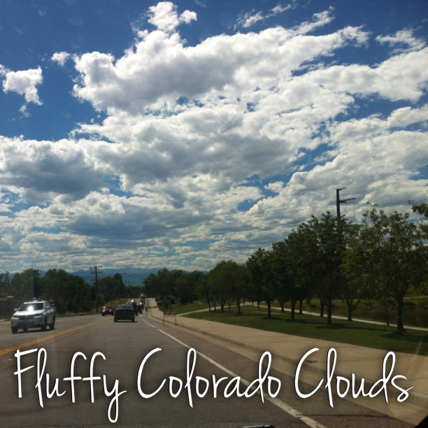 Fluffy-colorado-clouds