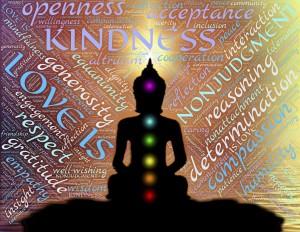 kindness love compassion buddha chakras