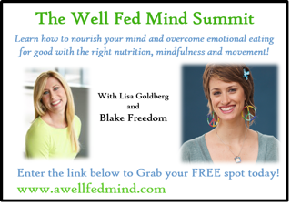 A Well Fed Mind = A Happy Nourished Body